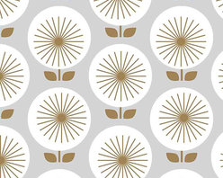 Chasing Paper - Sunburst White S002317 Wallpaper Panel - Sunburst White S002317 Wallpaper Panel is Self-adhesive.Collection name: Self Adhesive Wallpaper PanelSize of each panel is 2 feet by 4 feet.This wallpaper panel with sunburst pattern in white tones gives a bold and modern look to your walls. Also, the wallpaper panel is removable and easy to install.