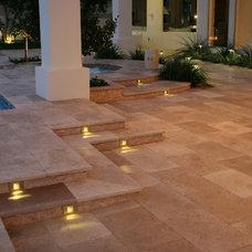 Traditional Patio by Laguna Pool & Spa