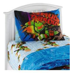 Jay Franco and Sons - Teenage Mutant Ninja Turtles Twin Sheet Set TMNT Nunchucks - FEATURES: