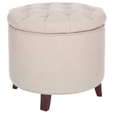 Modern Ottomans And Cubes by Target