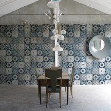 Mediterranean Wallpaper Azul wallpaper