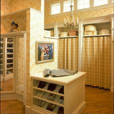 Traditional Closet by Leland Interiors, LLC