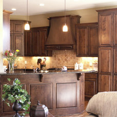 Traditional Kitchen Cabinetry by Designed Cabinets