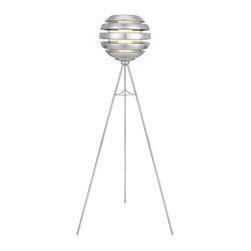 EGLO - Eglo 88298A Alu Brushed 1X100W Floor Lamp - EGLO 88298A Alu Brushed 1x100W Floor Lamp