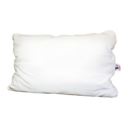 Malpaca - Malpaca Pillow, Natural White, Standard, Full Fill - Created as a safe alternative to the normal bedding fabrics that contain fire retardants and insecticides, Malpaca Pillows are Certified Made in the USA of 100% natural alpaca fiber. Available in four sizes and three fill options, Malpaca Pillows offer the size and firmness options to provide the perfect sleep; whether you prefer the traditional softer, flatter pillow or the popular firmer contemporary option.