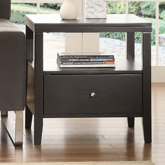 modern nightstands and bedside tables by Overstock