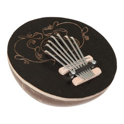 X8 Drums - X8 Drums Coconut Kalimba Gecko Thumb Piano Multicolor - X8-CT-KLB-DK - Shop for Toy Instruments from Hayneedle.com! The X8 Drums Coconut Kalimba Gecko Thumb Piano is actually made out of a coconut shell and produces enchanting sounds. This one comes with a hand-carved gecko design. About X8 DrumsX8 Drums truly walks to the beat of their own drum. This family-owned company is committed to providing the best selection of high-quality musical instruments with an emphasis on world music percussion instruments. X8 Drums has certainly helped champion ethnic hand drums in the digital age thanks to its founders - a New York City rocker and an internet sage.