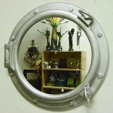 Fiberglass resin portholes many finishes