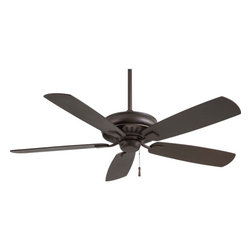 """Minka Aire - Minka Aire F532-ORB Sunseeker Oil Rubbed Bronze 60"""" Outdoor Ceiling Fan - Features All Weather Stainless Steel Hardware"""