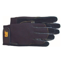Cat Gloves & Rainwear Co - Glove Unlined Pigskin - Velcro closure imprinted with CAT logo.