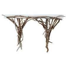 Beach Style Console Tables by EcoFirstArt
