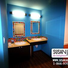 Modern Tile by Susan Jablon Mosaics