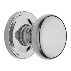 Baldwin Hardware - Baldwin Estate 5015 Classic  Door Knob Set - Privacy  - Satin Nickel - 5015 Product Details:
