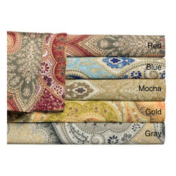 Milano Colorful Jacquard 300 Thread Count Cotton Sheet Set -