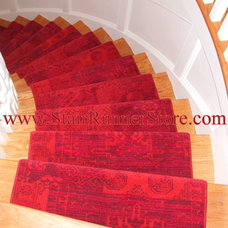 Contemporary Floors by The Stair Runner Store - Creative Carpet & Rug LLC