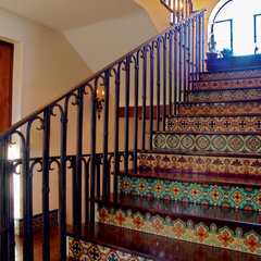 mediterranean staircase by Maraya Interior Design