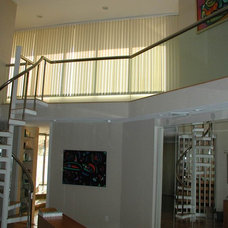 Contemporary Vertical Blinds by Solar Shading Systems