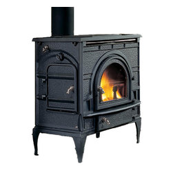 Majestic Products - Monessen 2460 DutchWest Catalytic Wood Burning Stove - Monessen 2460--DutchWest Catalytic Stove - Classic Black - Small Convection