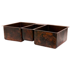 Rustic Kitchen Sinks by Lucido Luxe