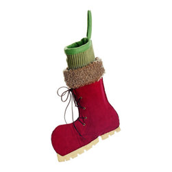 Silk Plants Direct - Silk Plants Direct Ice Skate Stocking (Pack of 4) - Pack of 4. Silk Plants Direct specializes in manufacturing, design and supply of the most life-like, premium quality artificial plants, trees, flowers, arrangements, topiaries and containers for home, office and commercial use. Our Ice Skate Stocking includes the following: