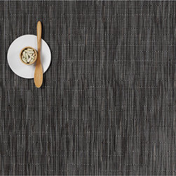 Chilewich - Chilewich - Bamboo Rectangle Placemat, Set of 4 - Bamboo combines modern practicality with a serene Asian sensibility. This subtle design has a natural feel that will complement and enhance a wide range of tableware, from traditional to contemporary. All Chilewich products, including round placemats and entertaining decor, are durable and easy to clean. Indoor/outdoor use. Made in USA.