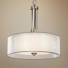 "Kichler Lacey 20"" Wide Antique Pewter Pendant Light - #R2881 