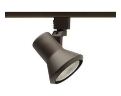 Juno - Juno 50-Watt Flare Bronze Track Lighting R551BZ - Shop for Lighting & Fans at The Home Depot. The Juno Trac-Lites Flared-Step Track Light offers a contemporary shape. It provides exceptional task and accent lighting when installed on the economical Juno Trac-Lites system. The perfect blend of form, function and value, this fixture features a durable, drawn-steel housing with a high-quality black finish.