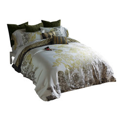 Evita Duvet Set, Full/Queen