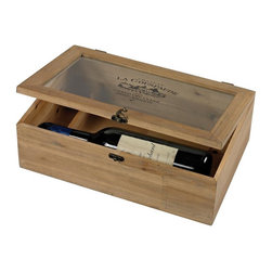 Joshua Marshal - Bleached Wood Wine Box - Bleached Wood Wine Box