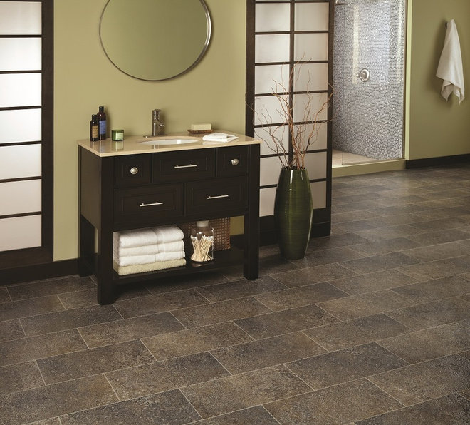 Contemporary Vinyl Flooring by Paul Anater