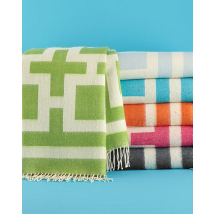 Contemporary Throws by Horchow