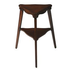 On Top Tripod Side Table - If you need a stylish table for a tight corner, look no further than this. The On Top Tripod Side Table combines sophisticated angles with playful curves and works well with many personal tastes.