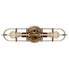 Murray Feiss Urban Renewal Antique Brass 5 1/2-Inch-W Sconce - #EU3J715 - Euro S