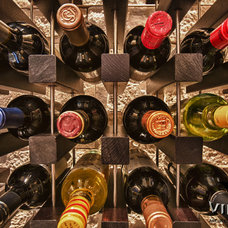 Contemporary Wine Racks by Kessick Wine Cellars