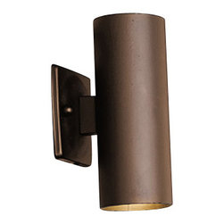 Kichler - Kichler 15079AZT Low Voltage ADA Compliant 2 Light Outdoor Wall Sconce - Product Features: