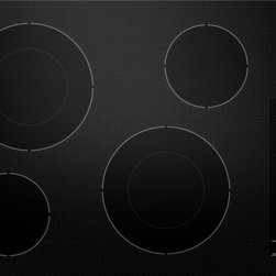 "KitchenAid - KECC602BBL 30"" Smoothtop Electric Cooktop With 4 Radiant Elements  2 Double-Ring - It all started in 1919 with the legendary stand mixer In the 90 years since they have built an entire kitchen of cooking and cleaning products around the same quality craftsmanship versatile technology and timeless style Through it all the secret ing..."