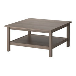 HEMNES Coffee table - Coffee table, gray-brown