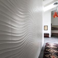 Modern Hall by m.a.p. interiors inc. / Sylvia Beez