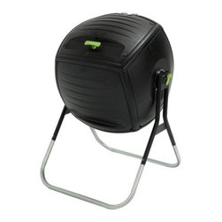 Lifetime 50 Gallon Composter - Put your kitchen waste and lawn trimmings to good use with the Lifetime 50 Gallon Composter. Constructed of high-density polyethylene (HDPE), it's durable, UV-protected, and has dark, double-walled panels that absorb and retain heat necessary for proper composting. With an ingenious tumbler design, this composter turns easily on an axis for balanced rotation. This saves you time and energy compared to turning a compost heap. Inside the composter, an internal aeration bar mixes compost and provides air-flow. Last but not least, this composter has an extra large removable lid and a spring-loaded pin that locks rotation during filling.About Lifetime ProductsOne of the largest manufacturers of blow-molded polyethylene folding tables and chairs and portable residential basketball equipment, Lifetime Products also manufactures outdoor storage sheds, utility trailers, and lawn and garden items. Founded in 1972 by Barry Mower, Lifetime Products operates out of Clearfield, Utah, and continues to apply innovation and cutting-edge technology in plastics and metals to create a family of affordable lifestyle products that feature superior strength and durability.
