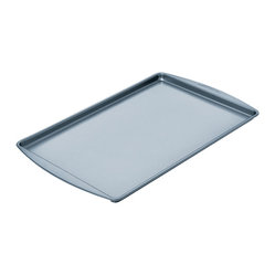 Chicago Metallic - Chicago Metallic Betterbake Nonstick Large Cookie Pan - Better baking just came your way! Cookies slide off, pastries don't stick, and homemade granola cooks evenly with no burned edges. Find your inner baker and bake!