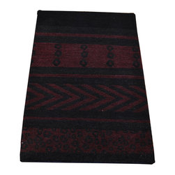 1800-Get-A-Rug - Modern Nepali Mat Hand Knotted Rug Natural Dyes Sh7479 - About Modern & Contemporary