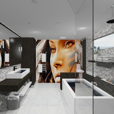 Modern Rendering by NathalieTremblay - Atelier Cachet