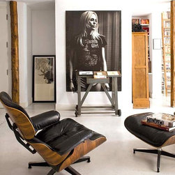 Eames style Lounge Chair -