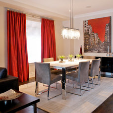 Contemporary Dining Room by Gabriele Pizzale Design Inc.