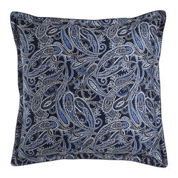 Ralph Lauren Home - Paisley European Sham - BLUE (EUROPEAN) - Ralph Lauren HomePaisley European ShamDesigner Please note: items that are part of the Ralph Lauren Home Collection are not available at any discount and will be removed from our site during sale events.About Ralph Lauren Home:The first designer to create an all encompassing collection for the home Ralph Lauren Home debuted in 1983 and provides a comprehensive lifestyle experience featuring complete luxurious worlds. Whether inspired by timeless tradition or reflecting the utmost in modern sophistication each of the collections is distinguished by the enduring style and expert craftsmanship of Ralph Lauren. With creative vision and impeccable design Ralph Lauren Home offers both transporting seasonal collections and enduring classics. Inspiration is drawn from English country estates the natural tones and textures of the desert or the spirit of adventure embodied in Safari the romance of seaside living the faded florals and classic ticking stripes of American country or the sleek urban aesthetic of a city loft. The line includes bed and bath linens china crystal silver decorative accents and gifts as well as lighting and furniture.