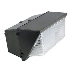 Elco - Elco EMH400 400W ED28 Large Metal Halide Wallpack - Elco EMH400 400W ED28 Large Metal Halide WallpackElco's Flood light collection features die cast aluminum housings, glass diffusers, moisture and dust proofing, and anodized aluminum reflectors. These lights are energy efficient and provide safety to parking areas, perimeter lighting, entrance and walkways, loading platforms, and recreational areas.Features: