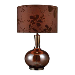 Dimond Lighting - Dimond Lighting D1603 Fairview Bronze and Coffee Plating Table Lamp - Dimond Lighting D1603 Fairview Bronze and Coffee Plating Table Lamp