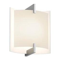 Sonneman Lighting - Sonneman Lighting 2450.01 Double Arc Wall Sconce - Sonneman Lighting 2450.01 Double Arc Wall Sconce