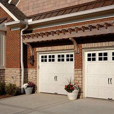 Contemporary Garage Doors by Automatic Door Specialists