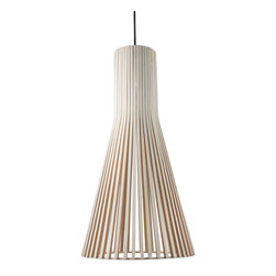 Hula Pendant - Add a soft touch of natural elegance to any space with the Hula Pendant. Beautifully constructed from wood, it sheds cascading light over your surroundings, casting unique shadows that illuminate your sophisticated and simple style. It makes a wonderful addition to any décor that's visually pleasing without overwhelming.